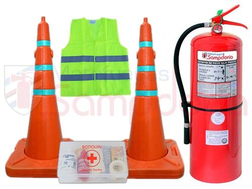 Kit reglamentario de emergencia para Camiones
