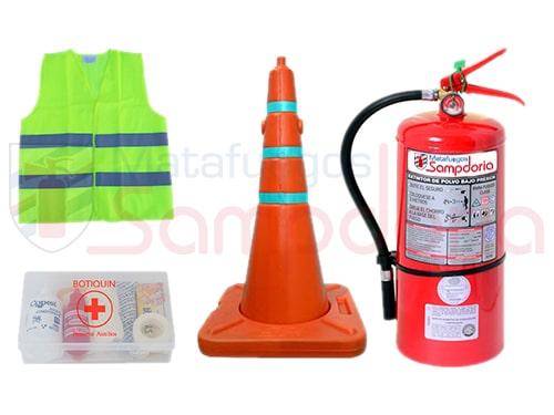 Kit reglamentario de emergencia para Camionetas